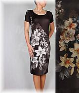 Šaty - Šaty lilie vz.424 - 10381773_