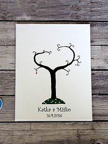 Obrázky - Svadobný strom v tvare srdca - 10382067_