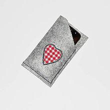 Na mobil - Obal / púzdro na mobil - Srdce ♥ - 10381481_