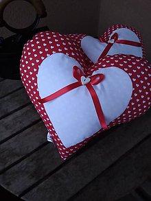 Úžitkový textil - Srdce veľké... - 10381768_