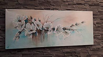 Obrazy - Kvety v závoji I. - 10382116_