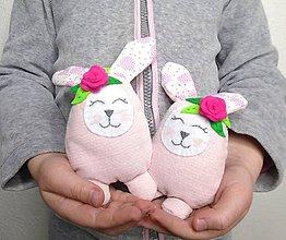 Dekorácie - Veľkonočné zajačikovia - 10379178_