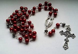 Iné šperky - Ruženec - 10379168_