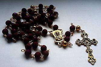 Iné šperky - Ruženec - 10379246_