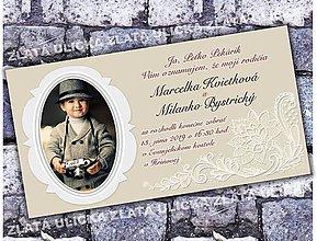 Papiernictvo - Svadobné oznamko Moji rodičia - 10382103_