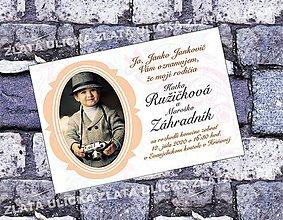 Papiernictvo - Svadobné oznamko Môj ocko a mamka - 10382125_