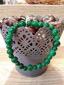Náramky - Zelený náramok II. - 10378960_