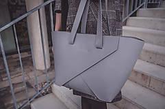 Kabelky - Shopper Origami Stone - 10380295_