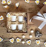 Svietidlá a sviečky - Darčeková krabica - štyri lásky - 10378683_