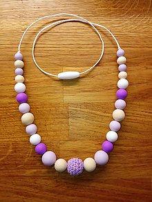 Náhrdelníky - Dojčiaci náhrdelník - 10380305_