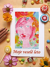 Knihy - Moje veselé leto - 10381524_
