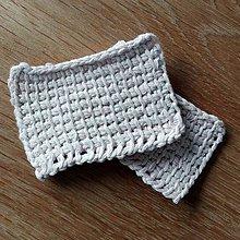 Úžitkový textil - Upcyclované odličovacie tampóny - 10381392_