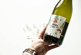 Darčeky pre svadobčanov - Etiketa na víno - 10380677_