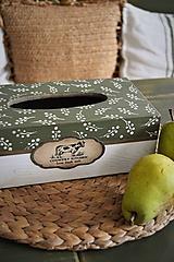 Krabičky - Krabička na servítky