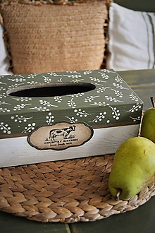 """Krabičky - Krabička na servítky """"Country Kitchen"""" - 10381663_"""