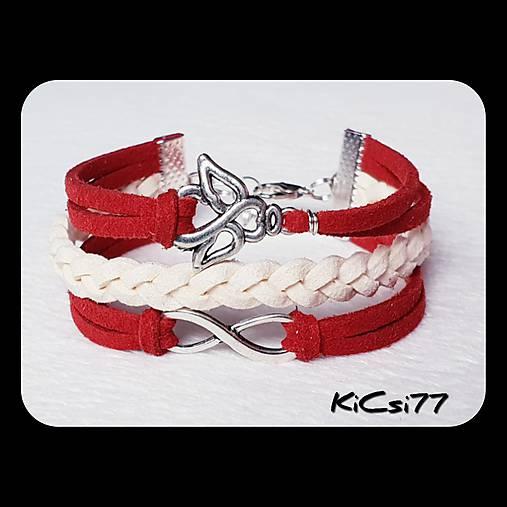 Heart and Infinity   KiCsi77 - SAShE.sk - Handmade Náramky 2da16fb2e4d