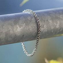 Náramky - Micro Jen pěkně lež (Chirurgická ocel) - náramok - 10383717_