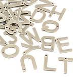 Komponenty - Písmeno H /M8010/ - nerezová oceľ 304 - 10384939_