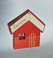 Darčeky pre svadobčanov - Srdce desatoro do manželstva (S podkladom červená) - 10383795_