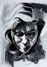 Obrazy - portrety - 10384090_
