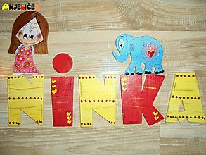 Tabuľky - Nápis - Ninka - 10384568_