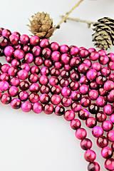 Minerály - ružové tigrie oko 8mm korálky - 10384743_