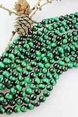 Minerály - zelené tigrie oko 8mm korálky - 10384751_