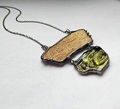 Náhrdelníky - cínový šperk  - Natural - - 10384022_