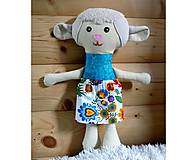 Hračky - Nádherná mojkacia hračka Ovečka OVKA a Baranček BARY (Béžová ovečka bez sukienky) - 10382402_
