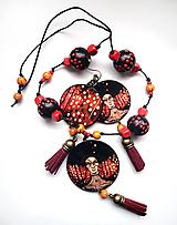Sady šperkov - Sada šperkov Žena, ktorá neuteká - 10382851_