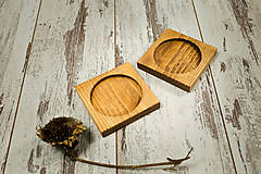 Nádoby - Hrnček s vlastným motívom + drevená podšálka - 10385034_
