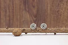 Šperky - Motýlik Medový kvet - svetlý + manžetové gombíky - 10383056_