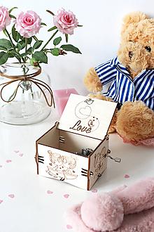 """Krabičky - Hracia skrinka """"Pre zamilovaných"""" - 10383556_"""