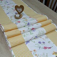 Úžitkový textil - Vesna - stredový obrus (1) - 10384869_