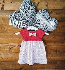 Detské oblečenie - Dievčenské šatky - 10383193_