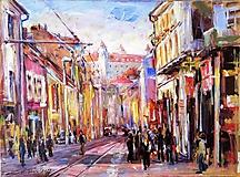 Obrazy - Obchodná ulica v Bratislave - 10384100_