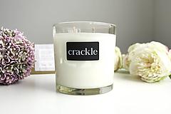Svietidlá a sviečky - Luxusná sviečka v skle - 10382308_