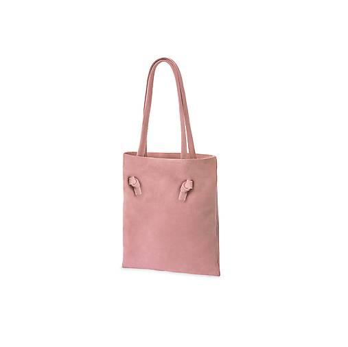 Kožená kabelka simplex Rosea