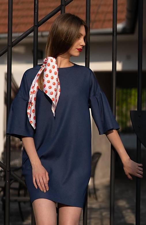 Džínsové šaty s elastanom TOMATO COLLECTION