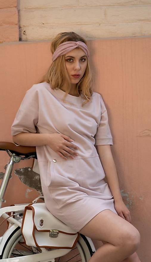Rovné mini šaty ROSE COLLECTION  ( pôvodná cena 59 € )