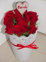 Dekorácie - Kvetinový box - 10384179_