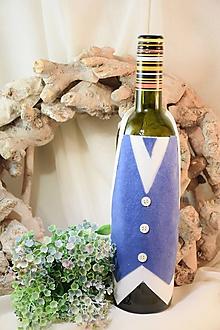 Úžitkový textil - Zásterka na fľašu - 10384068_