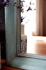 Zrkadlá - Zrkadlo v shabby chic štýle - 10384790_