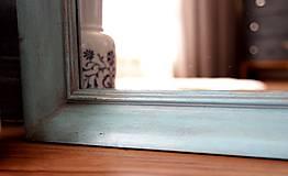 Zrkadlá - Zrkadlo v shabby chic štýle - 10384801_
