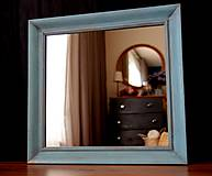 Zrkadlá - Zrkadlo v shabby chic štýle - 10384806_