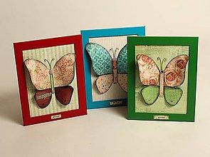Obrázky - 3D-motýlikový obrázok - 10383407_
