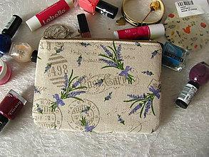 Taštičky - Taštička na mobil - Lavender - 10384344_