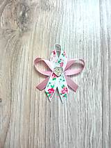 Pierka - Svadobné pierko kvetinkové - 10384346_