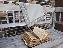 Úžitkový textil - Ľanový obrus Luxury Linen - 10384681_