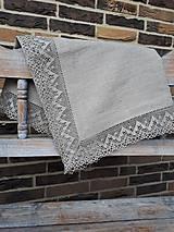 Úžitkový textil - Ľanový obrus Luxury Linen - 10384683_